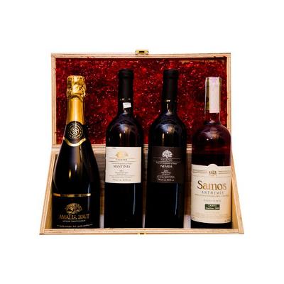 cassetta4autoctoni - Cassetta -  I vini autoctoni - 4 vini