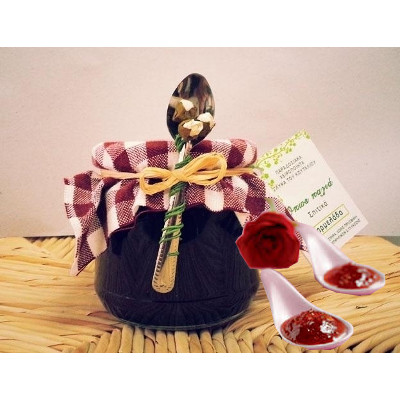 cucchiaio petali rosa - Dolce al cucchiaio ai petali di Rosa