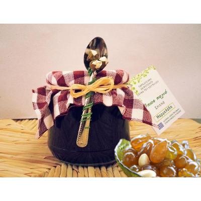 dolce cucchiaio uva corinzia - Dolce al cucchiaio uva corinzia