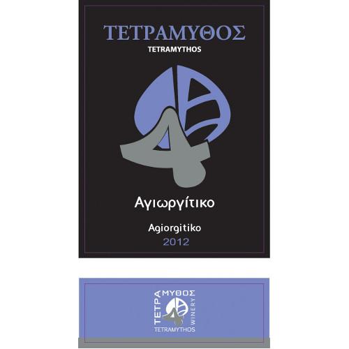 etichetta agiorgitiko - AGIORGITIKO TETRAMYTHOS NATURALE