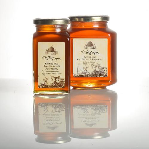 miele con erbe e timo bianco - Miele di timo bianco e piante selvatiche