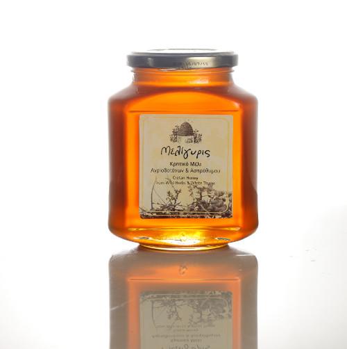 miele con erbe e timo bianco1 - Miele di timo bianco e piante selvatiche