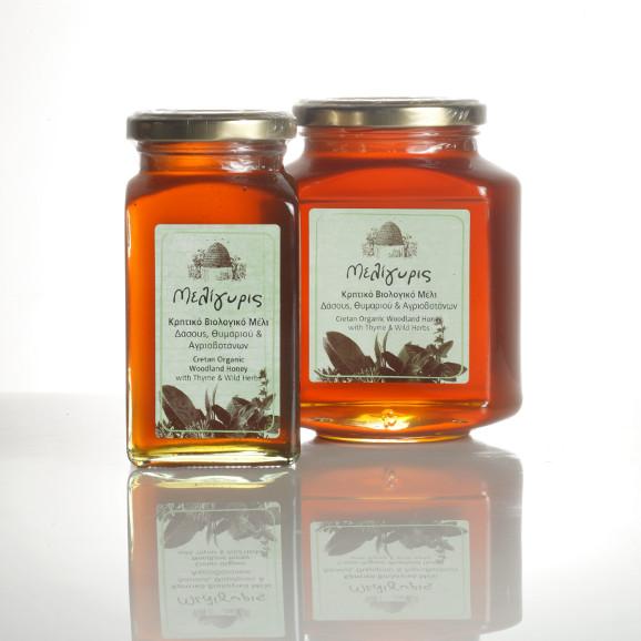 miele con erbe e timo biologico - Miele di bosco di timo e di piante selvatiche biologico