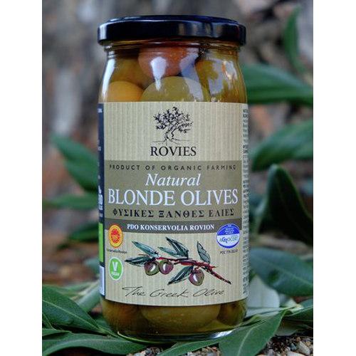 olive bionde bio dopo konservolià rovies