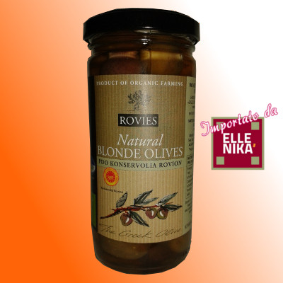 olive bionde biologiche18 - Olive in salamoia Bionde Biologiche - DOP Konservolia Rovies