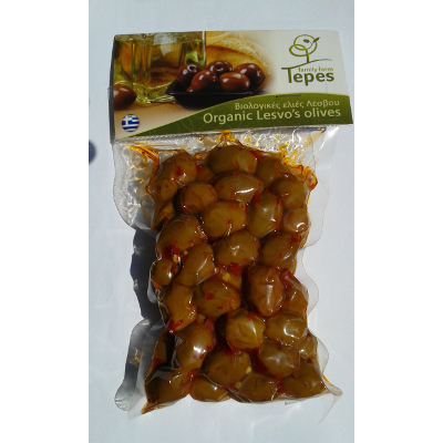 olivebioboukovotepes - Olive Greche Kolovi Biologiche condite con Boukovo