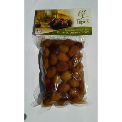 olivebiotepes5 - Olive Kolovi Bio di Lesbo in aceto