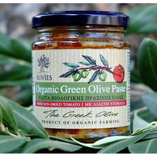 pasta bio olive verdi pomodori secchi rovies