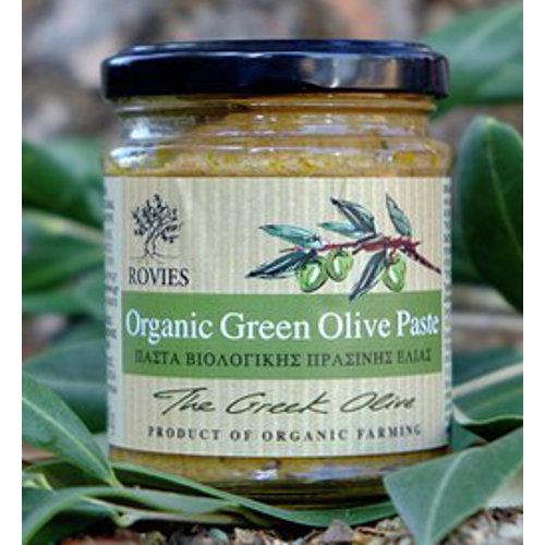 pasta bio olive verdi rovies