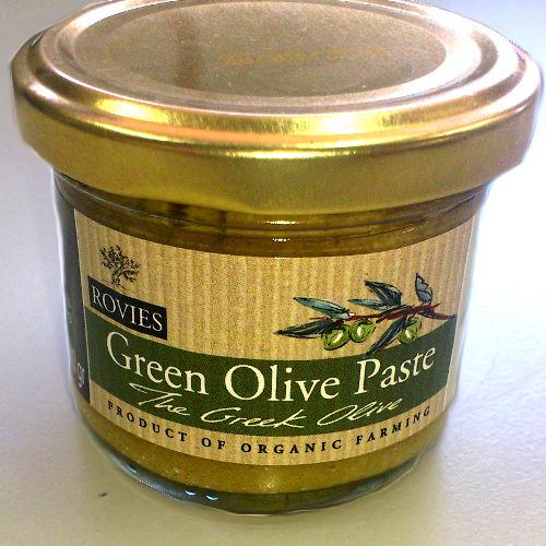 pasta olive biologiche greche - Pasta di olive verdi Biologiche