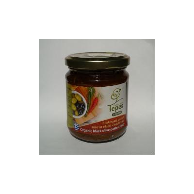 pastanerapiccantetepes - Pasta Bio piccante di olive Kolovi nere