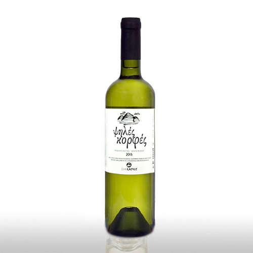"vino bianco secco cime alte - Psiles Korfes - ""Cime alte"""