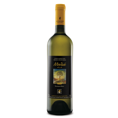 vino greco milia bianco - Agrippiotis orange nature