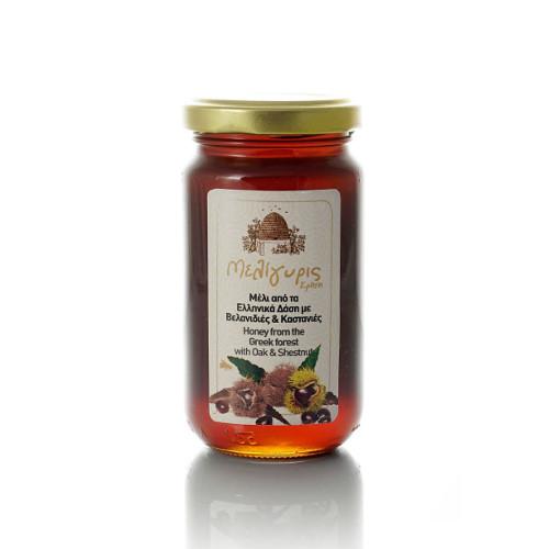 miele greco di quercia e castagno meligyris