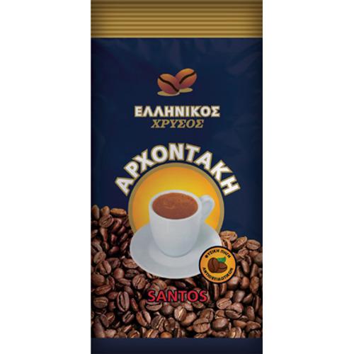 caffè tradizionale greco Ellenikòs oro Archontakis