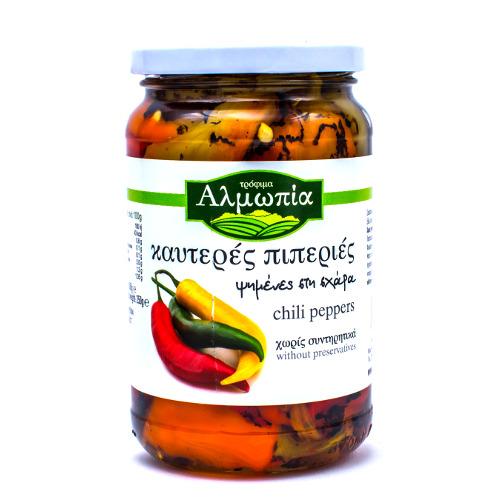 peperoni piccanti di macedonia