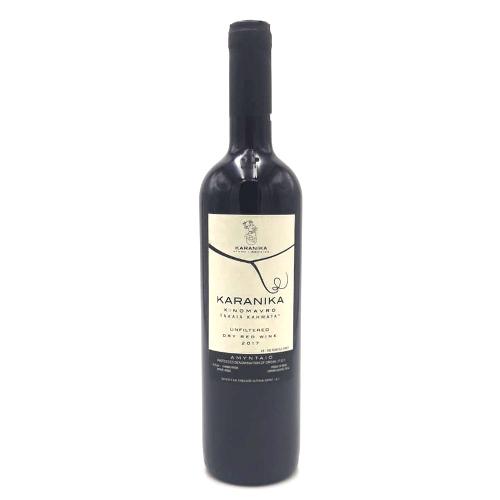 Amyntaio xinomavre vecchie vigne karanika