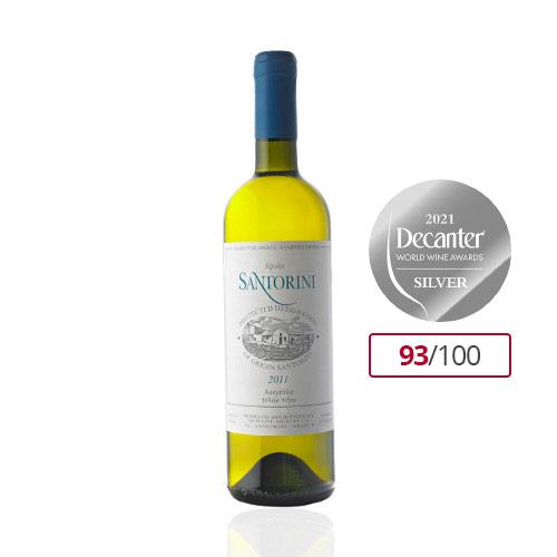 Santorini Dop Tenuta Karamolegos Silver Premi Decanter 2